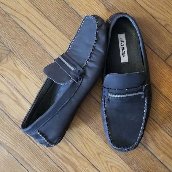 cc1e115b08e Last day❗️Steve madden leather slip on loafers 12w